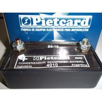 Condensador Bateria Competicion Karting Motos Pietcard 4010