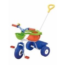 Triciclo Infantil Con Manija Rondi Body Metal Blue
