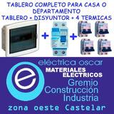 Pack Kit Tablero Completo Térmicas Disyuntor Sica Oferta!!!