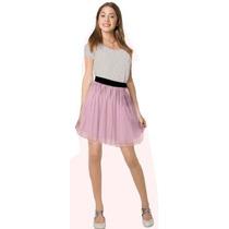 Disfraz Violetta Plateado Talle 2 Ploppy 590605