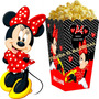 Kit Imprimible Minnie Roja Candy Bar Golosinas Cotillon 2x1
