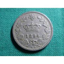 Antigua Moneda Italia - Regno Dítalia - 20 Centesimi 1894