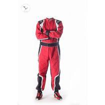 Buzo Antiflama Karting Automovilismo 2016! At Racing + Gorra