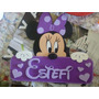 Cartel Bienvenido Disney, Cuadros Bebes, Entrega En 24hs