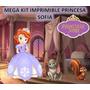 Mega Kit Imprimible Princes Sofia