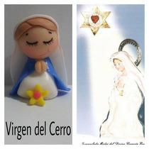 Souvenir Virgencitas Porfis Cuidame Tuliritas Porcela Fría