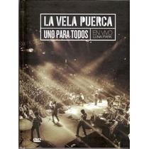 La Vela Puerca Uno Para Todos 2cd/dvd Oferta No Te Va Gustar