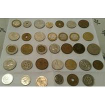 Lote De Monedas Antiguas (34 Monedas )