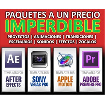 Todo After Effects | Sony Vegas| Premiere | Imperdible!!