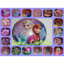 10 Globos Metalizados 45cm Frozen Araña Mickey Minnie Kitty