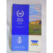 Reglas De Golf Y El Estatuto Del Jugador Aficionado 29 Ed