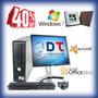 Computadora Dell Con Monitor 17 Lcd Excelente Pc !!