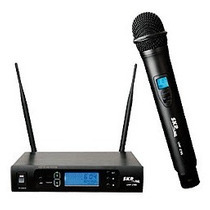 Microfono Inalambrico De Mano Skp Uhf295 Audio Profesional