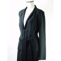 Divino Traje Negro Zara Woman-muy Femenino-impecable