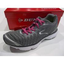 Zapatillas Dunlop Running Laser Light Mujer Original