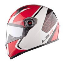 Casco Ls2 Ff358 Corsa Red Sistema Bomba Air Go Devotobikes