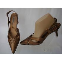 Zapatos Baile Ballroom 40 Eco-cuero Dorado Bronce (ana.mar)