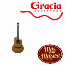 Gracia M8 Guitarra Acustica De Estudio Natural C/ Funda