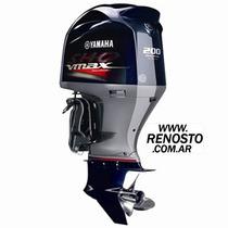 Motores Yamaha 200hp 4t V-max - 4169cc Super High Output