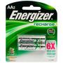 Energizer Blister 2 Pilas Recargable Aa 2300mah Mejor Precio