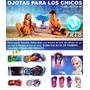 Ojotas Infantiles Exelente Cxalidad Varios Diseños!!!