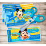 Kit Imprimible Mickey Bebe - Editable **incluye Candy Bar**