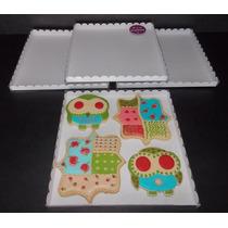 Caja Para Cookies Large Base Cartulina+tapa Pvc (pack 25 U)