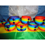 Pulsera Del Orgullo Gay Lgbt - Super Ancha (2 Botones)!