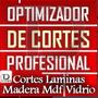 Programa Optimizador Cortes Lamina Tablero Madera Mdf 2016