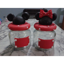 Frasco Golosinero Minnie Mickey
