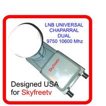Box Lnb-ku Doble Chaparral Pro Universal Fta America Az Usa