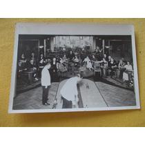 602-foto Antiguo Juego Salón Alta Sociedad Carrera Caballos)