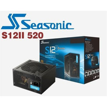Fuente Pc Seasonic Bronze 80plus 520 Watts Reales S12ii-520