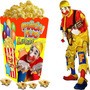 Kit Imprimible Piñon Fijo Payaso Candy Bar Invitaciones 2x1
