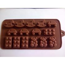 Molde De Silicona Para Bombones De Chocolate Lego.caballo Os