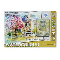 Block Acuarela 200g 35 X 50 Fabriano Watercolour X 12 ( 528)