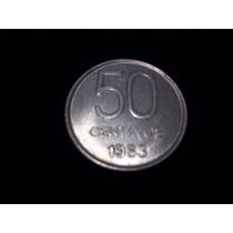 Moneda Argentina 50 Centavos 1983 Excelente !!!