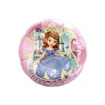 Globos Metalizados De La Princesa Sofia De 18