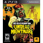 Red Dead Redemption Undead Nightmare Ps3, Excelente Estado!