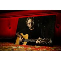 Cuadro Artesanal Eric Clapton. Música. Rock. Decoración