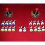 Combo 2 Palancas+16 Botones Aro Blanco + Player 1y 2