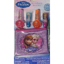 Frozen Princesas Kit X 8 Items Coqueteria Disney Store Usa!!