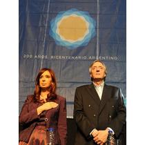 Cuadros Cristina & Nestor Kirchner - Arte Digital - 27x42