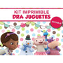 Kit Imprimible + Candy Doctora Juguetes