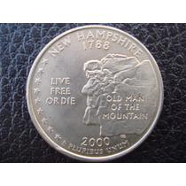 U. S. A. - New Hampshire, Moneda D 25 Centavos (cuarto) 2000