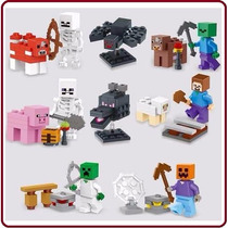 Minecraft - Colec X 8 + Animales! Minifiguras - E-commerce07