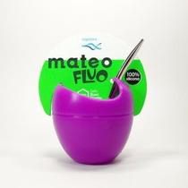 Mate Mateo Fluo - Silicona - Magenta Deco - Regalo Original