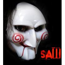 Mascara De Juego Del Miedo Disfraz Disfrazate Saw Jigsaw En