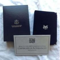 Monedas Plata Mundial U.s.a. 1994 Prestige Set Certificado