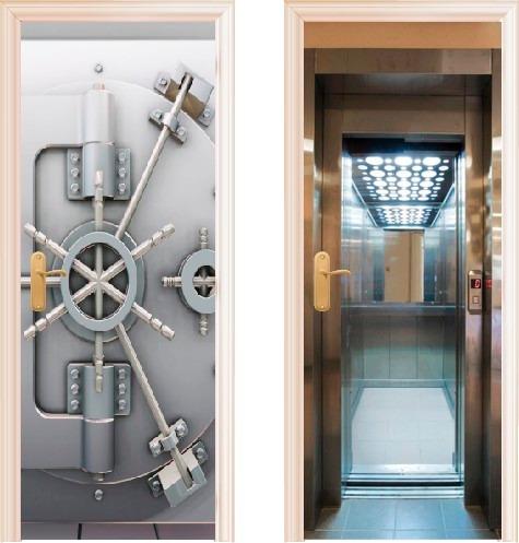 Vinilos decorativos para puertas envios a caba desde 30 - Arcos decorativos para puertas ...
